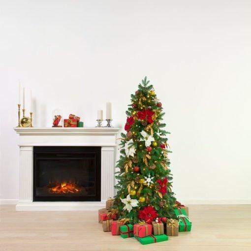 Easy Setup Christmas Tree - 5.5 Feet Mini